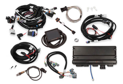 Holley EFI Terminator X MAX LS2/LS3 & Late 58X/4X LS Truck MPFI Kit with Transmission Controller #550-918