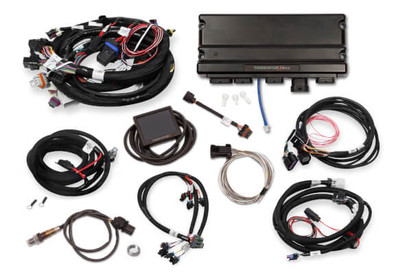 Holley EFI Terminator X MAX Early Truck 24X/1X LS MPFI Kit with DBW Throttle Body & Transmission Control #550-927