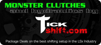 Tick & Monster Complete Clutch & Hydraulic Upgrade Package for 2010-2015 Camaro & 2009 Pontiac G8 GXP (TPMCCP5G)