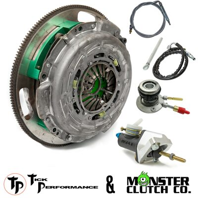 Tick & Monster Complete Clutch & Hydraulic Upgrade Package for 2010-2015 Camaro & 2009 Pontiac G8 GXP