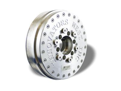 Innovators West GEN V LTX 6-Rib Harmonic Balancer for C7 Corvette Dry Sump - Standard Diameter