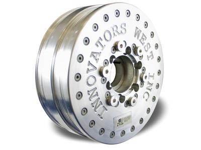 Innovators West LSX 6-Rib LSX Harmonic Balancer for Gen 5 Camaro, LS Truck & Trailblazer SS - Standard Diameter