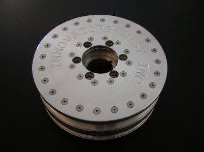 Innovators West LSX 6-Rib LSX Harmonic Balancer for Gen 5 Camaro, LS Truck & Trailblazer SS - 10% Underdrive