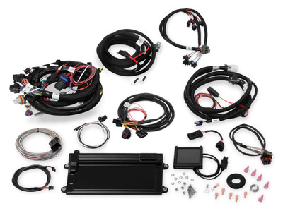 Holley EFI EFI MPFI Kits, Terminator Mpfi, 4.8-6.0 Early Trk- W/Dbw & Trans, Part #550-623