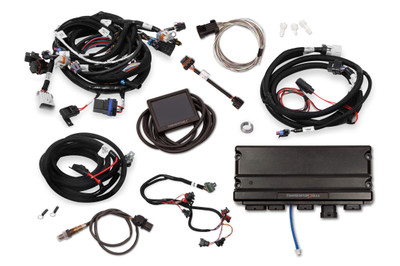 Holley EFI Terminator X Max LS2/LS3 and Late 58x/4x LS Truck MPFI Kit with Transmission Control, Part #550-920