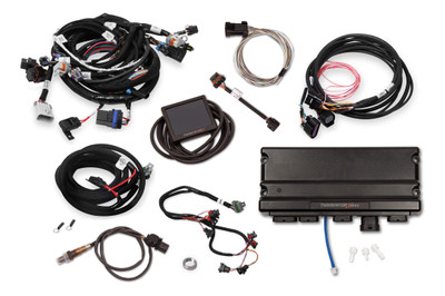 Holley EFI Terminator X Max LS2/LS3 and Late 58X/4X LS Truck MPFI Kit with DBW Throttle Body Control, Part #550-933