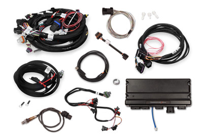 """Holley EFI Terminator X Max LS1 24x/1x with DBW Throttle Body Control Kit, without 3.5"""" Handheld, Part #550-929T"""