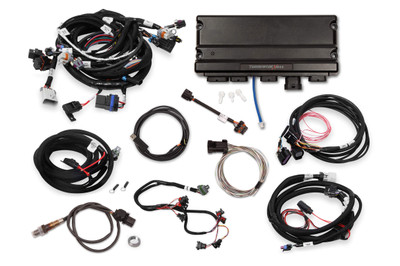 "Holley EFI Terminator X Max LS2/LS3 and Late 58X/4X LS Truck with DBW Throttle Body and Transmission Control Kit, without 3.5"" Handheld, Part #550-935T"