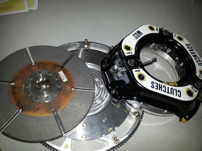 "AC10S Advanced Clutches Single 10"" Adjustable"