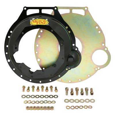 Quick Time Power Train, Ford Big Block to T56 Ford, Fork Positioned at 9:00, Part #RM-8050-9
