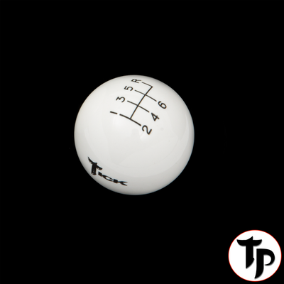 Tick Performance White 6 Speed Shifter Ball