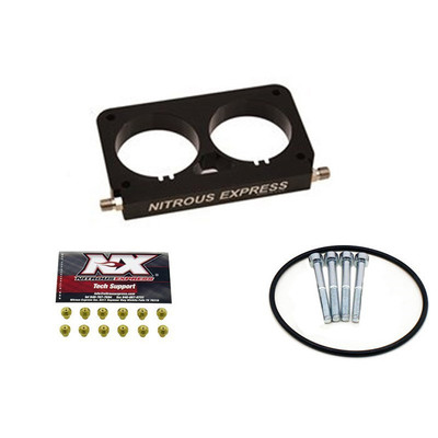 Nitrous Express Efi Plate Conversion, 4 Valve Ford Stock Throttle Body, Part #NX-NX950D