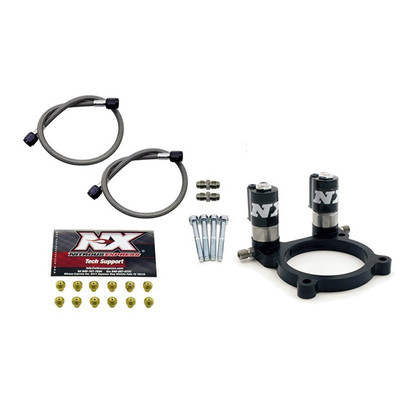 Nitrous Express Ford 3.5/3.7 Nitrous Plate Conversion (With Integrated Solenoids, Part #NX-NX952