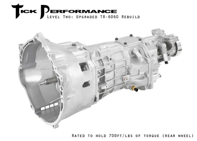 Tick Performance Level 2 Upgraded TR-6060 Rebuild (700RWTQ) for 2010+ Camaro SS
