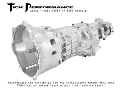 Tick Performance Level 3 SUPER TR-6060 Rebuild (700RWTQ and up) for 2010+ Camaro SS