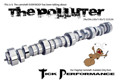 Tick Performance Polluter V1 Camshaft Package for LS1 & LS6 Engines