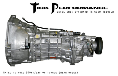 Tick Performance Level 1 Standard TR-6060 Rebuild (550RWTQ) for 2008+ Corvette & Z06 & ZR1