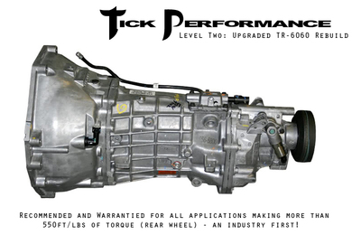 Tick Performance Level 2 Upgraded TR-6060 Rebuild (550RWTQ and up) for 2008+ Corvette & Z06 & ZR1 (TICKL2YB60)