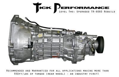 Tick Performance Level 2 Upgraded TR-6060 Rebuild (550RWTQ and up) for 2008+ Corvette & Z06 & ZR1 (TICKL2YB60)