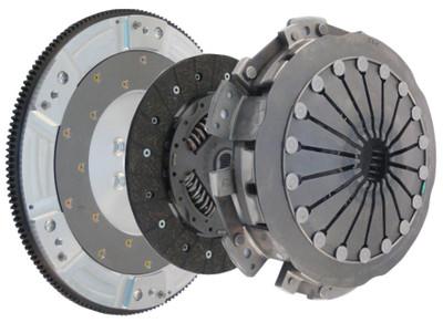 Katech LS9X Twin Disk Clutch & Flywheel Kit for LS1/LS2/LS6 Camaro & Firebird & GTO (torque capacity: 800+)