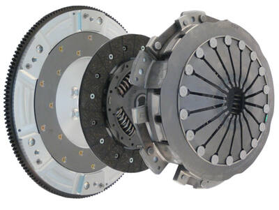 Katech LS9X Twin Disk Clutch & Flywheel Kit for LS3 L76 Pontiac G8 GXP (torque capacity: 800+)