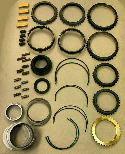 TICKshift Level 2 T56 Rebuild Parts-Only Kit for 1993-02 LT1 or LS1 Camaro & Firebird T56 Transmissions