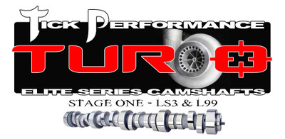 Tick Performance Turbo Stage 1 Camshaft for LS3 & L99 Engines