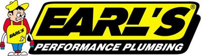 Earls Performance 8An Flanged Bulkhead Nut, S.S., Part #EAR-SS992508ERL