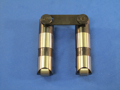 Johnson Tie Bar Reduced Travel Race Lifter Set for all SBC Engines, Slow Leakdown, Part #2116SBR