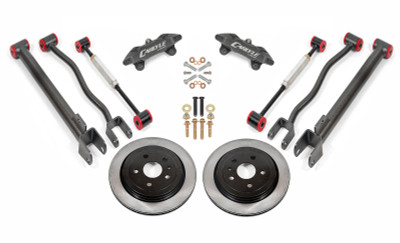 """15"""" Conversion Kit by Carlyle Racing, Solid Rotors, Black Calipers - 2nd Gen CTS-V"""