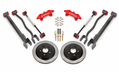 """15"""" Conversion Kit by Carlyle Racing, Solid Rotors, Red Calipers - 2nd Gen CTS-V"""