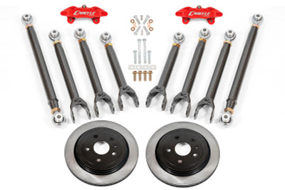"""15"""" Conversion Kit by Carlyle Racing, Solid Rotors, Red Calipers - 3rd Gen CTS-V"""