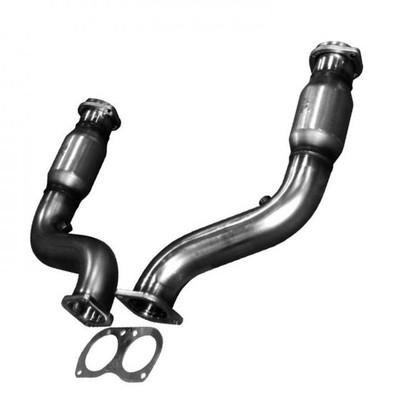 "Kooks 3"" x OEM Catted Connection Pipes for 2005-2006 Pontiac GTO #24123200"