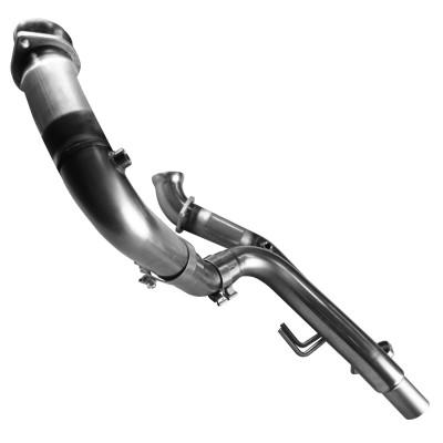 "Kooks 3"" x OEM Off Road Dual Connection Pipes for 2001-2006 6.0 Silverado SS, Cadillac Escalade, & GMC Denali #28523100"