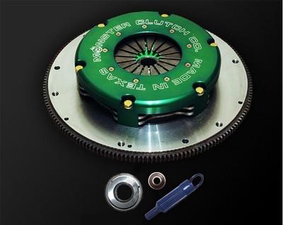 "Monster Level 1 Twin Disc 8.5"" Clutch & Flywheel Package (torque capacity: 700)"