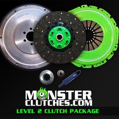 Monster Level 2 Clutch & Flywheel Package (torque capacity: 550)