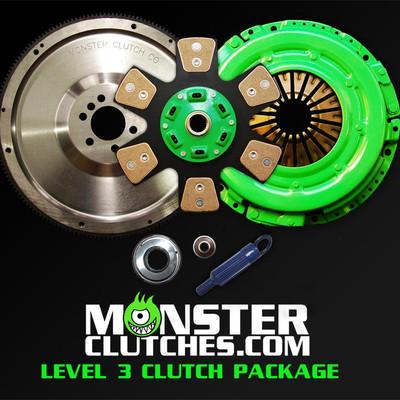 Monster Level 3 Clutch & Flywheel Package (torque capacity: 700)