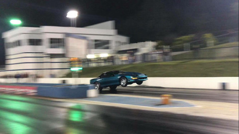 Josh Burkhart's Turbo Camaro at King of the Streets!!!!