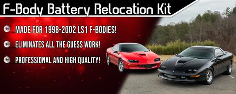 F-Body Battery Relocation kit