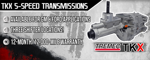 We Are Now Offer The New Tremec TKX!