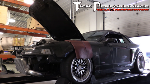 LSX Terminator on the Dyno