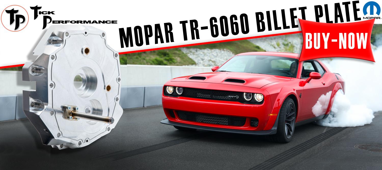 TR-6060 Billet Front Plate
