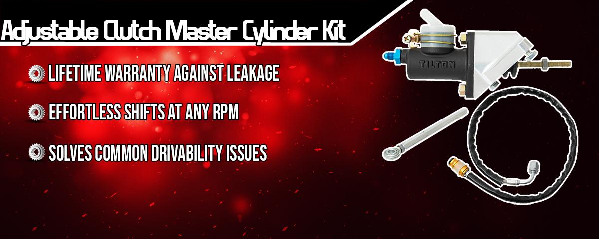 tick performance adjustable clutch master cylinder