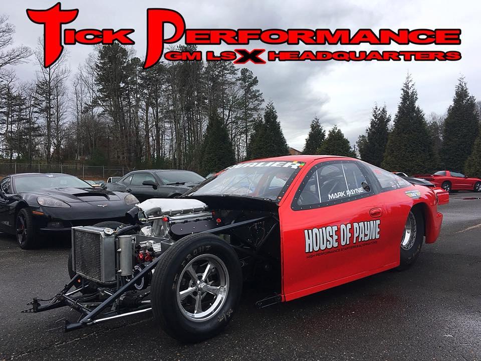 Mark Payne's Twin Turbo Top Sportsman Cavalier Build - Tick