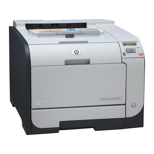 HP Color LaserJet CP2025N Network Printer (21 ppm in color) - CB494A