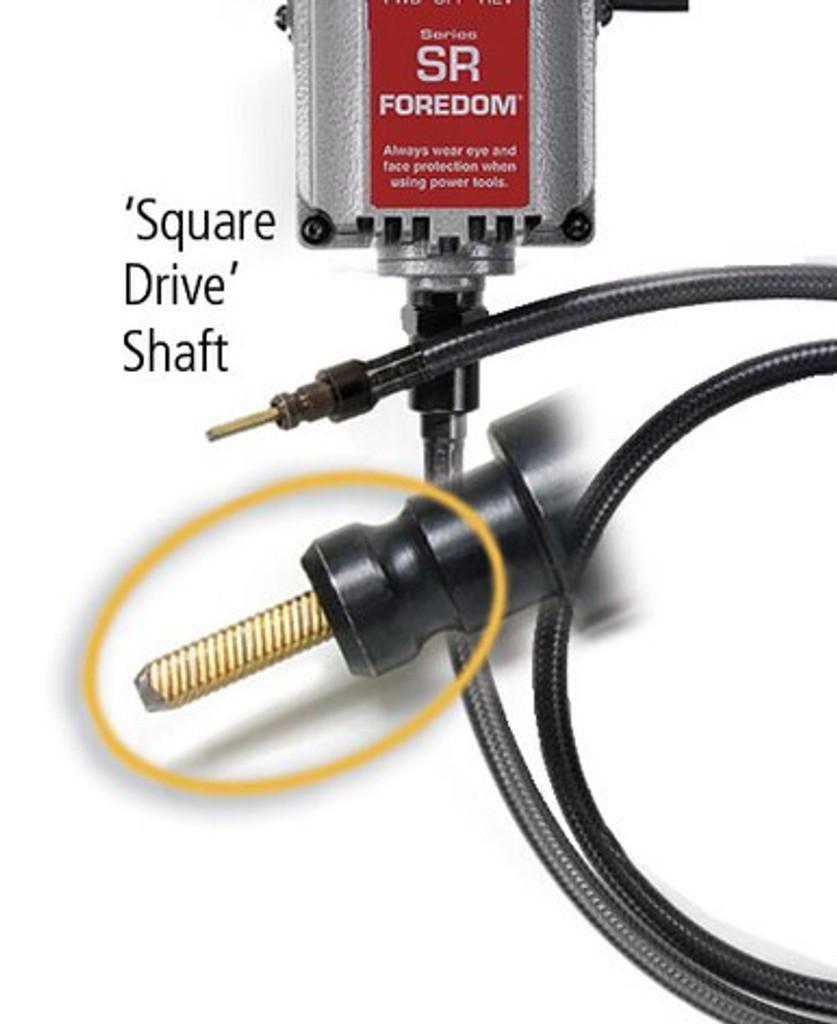 K.8318-2 Foredom Equine Dental Kit, Heavy Duty, 230 Volt - Square Drive
