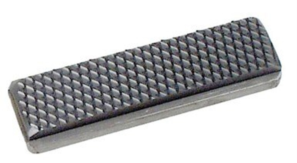 """3-1/4"""" x 1"""" Medium Carbide Float Blade with Stainless Steel Backing - #98180"""