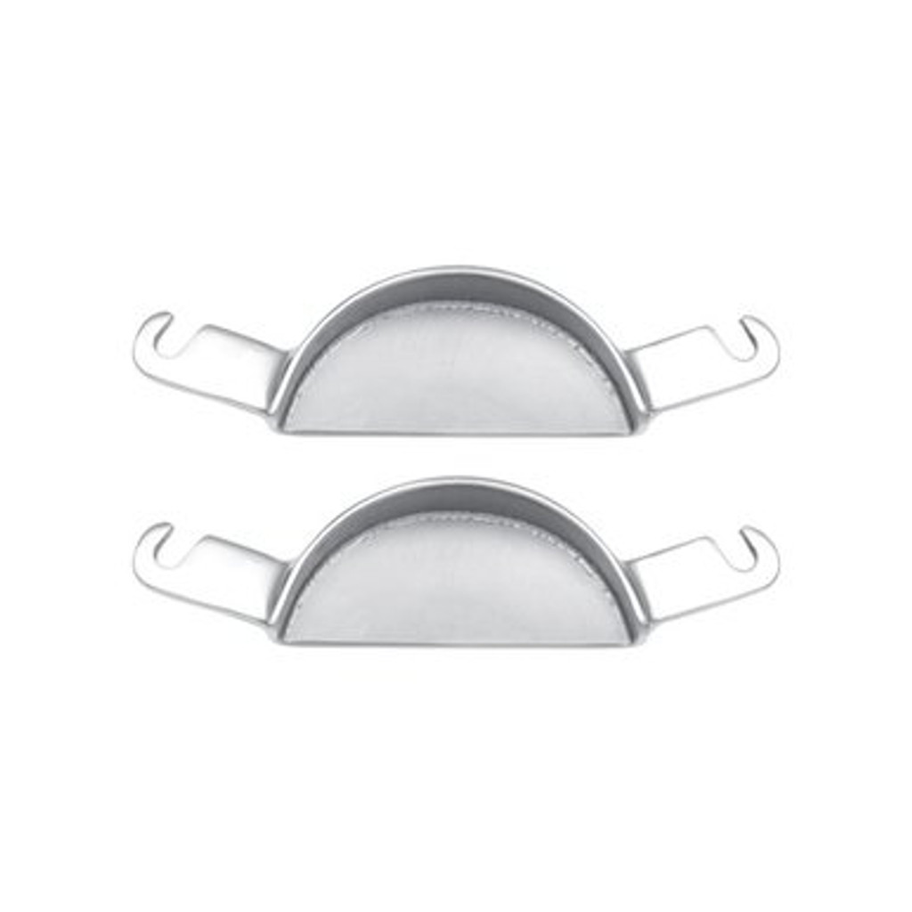 extra wide millennium stainless steel bit plates 93875 promax equine dental