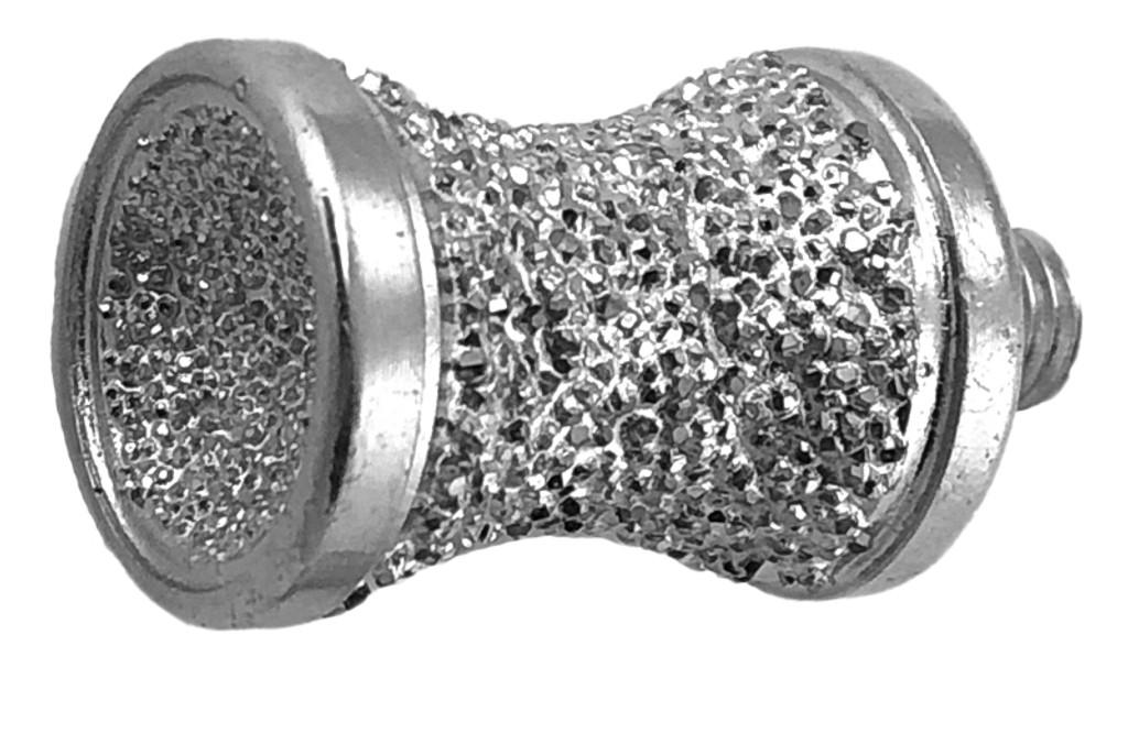"5/8"" Brazed Diamond Canine/Apple Combination Burr 1/4-28 Thread"