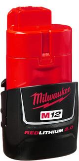2.0 Battery for Milwaukee Motor